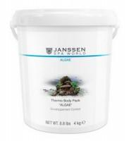 Janssen Thermo body pack «Algae» (Саморазогревающееся антицеллюлитное обертывание), 4 кг - купить, цена со скидкой